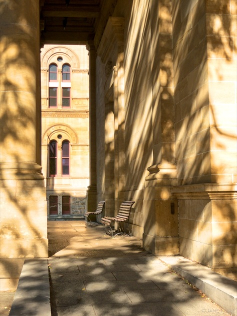 University Shadows in Adelaide